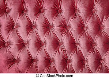 cor-de-rosa, upholstery, tecido, tufted, capitone, textura