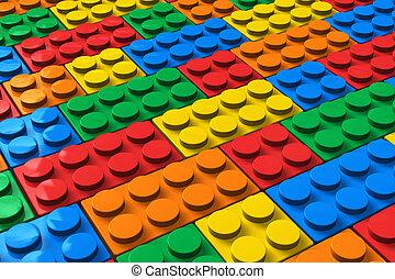 cor, edifício bloqueia