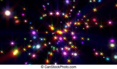 cor, estrelas