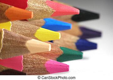cor, lápis