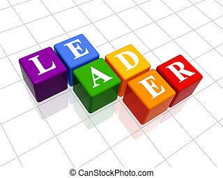 cor, líder