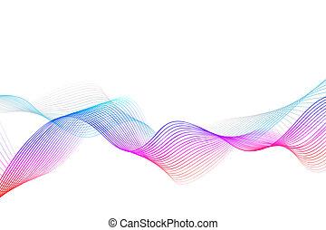 cor, multi, abstratos, fundo