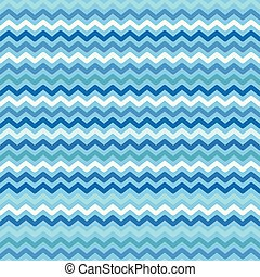 cor, padrão, seamless, onda