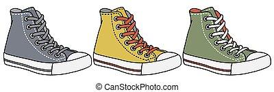 cor, sneakers