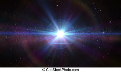 cor, universo, estrelas