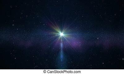 cor, universo, feiticeira, estrelas