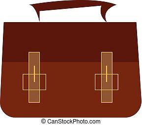 cor, vetorial, pasta, ilustração, ou