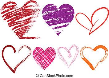 coração, ícones