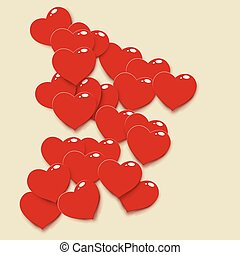 coração, 02, vermelho