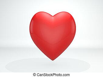 coração, 3d