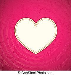 coração, amor, fundo
