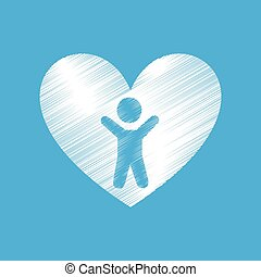 coração, amor, pessoas