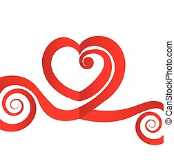 coração, amor, valentine