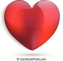 coração, amor