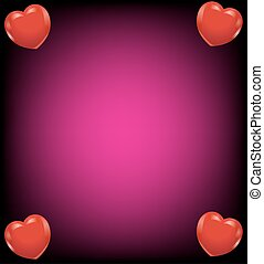 coração, cartão