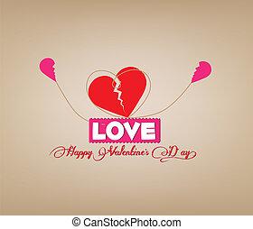coração, conexão, valentines