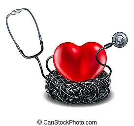 coração, cuidado