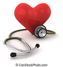 coração, cura