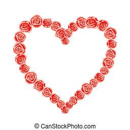 coração, de, amor
