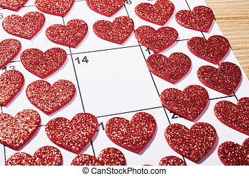 coração, dia dos namorados, agenda