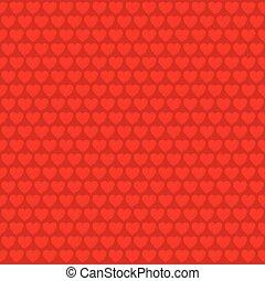 coração, esboço, forma, padrão