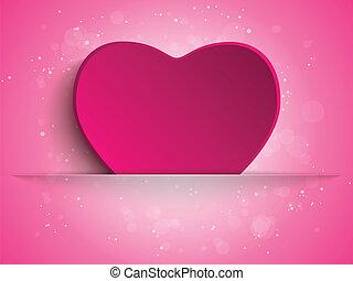 coração, feliz, dia, fundo, mãe