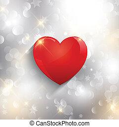 coração, fundo