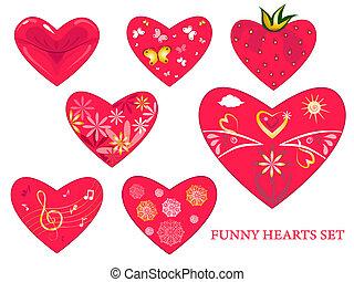 coração, jogo, 2