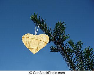 coração, natal
