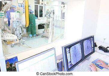 coração, operação