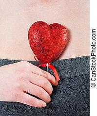 coração, peito