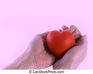 coração, por si