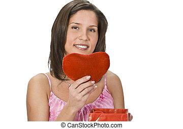 coração, presente