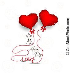 coração, símbolo, dia dos namorados