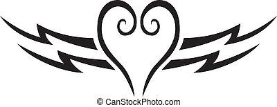 coração, tatuagem