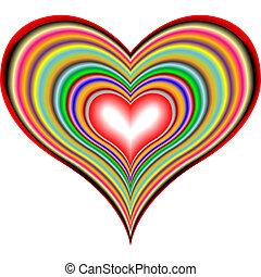 corações, 2, retro