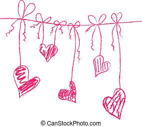 corações, cadeias