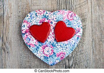corações, Dia, valentine