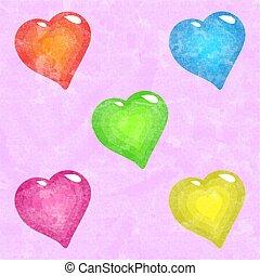 corações, funky