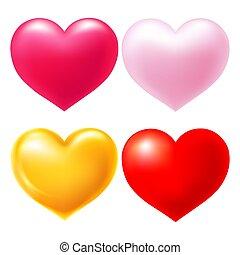 corações, jogo