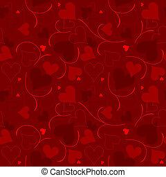 corações, textura
