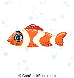 Coral Fish Drawing