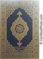 coran, livre, -, saint, musulmans