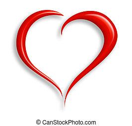 corazón, amor