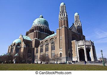 corazón, basílica, bruselas, sagrado