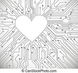 corazón, circuito