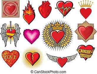 corazón, colección