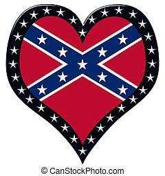 corazón, confederado