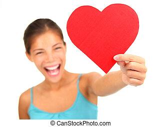 corazón, día de valentines