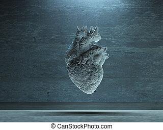 corazón de la piedra